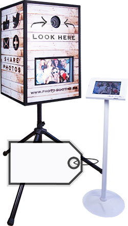 Wedding Photo Booth Hire - Rustic